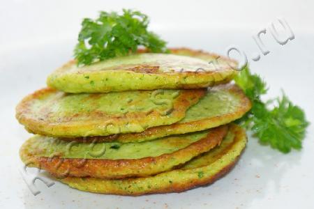 рецепт с фото кабачковые оладьи