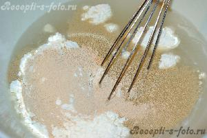 Дрожжевое тесто (без яиц)