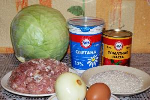 Голубцы в томатно-сметанном соусе, пошаговый рецепт с фото