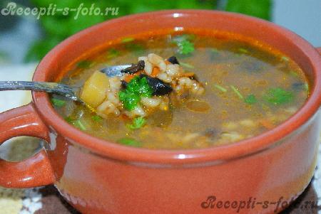 Супы рецепты с перловкой с фото