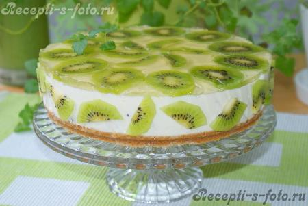 Рецепт творожного торта с желатином без выпечки